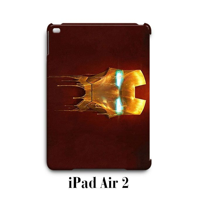 Iron Man Face iPad Air 2 Case Cover Wrap Around