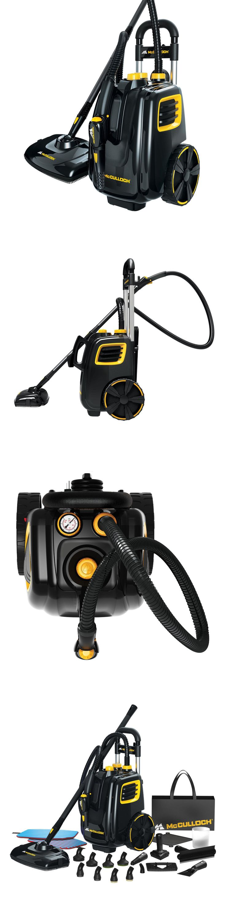 Carpet steamers 79656 steam cleaner system canister deep