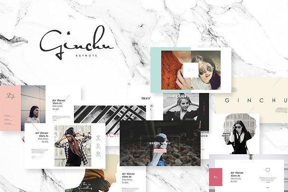 Ginchu Keynote Template by Angkalimabelas on @creativemarket