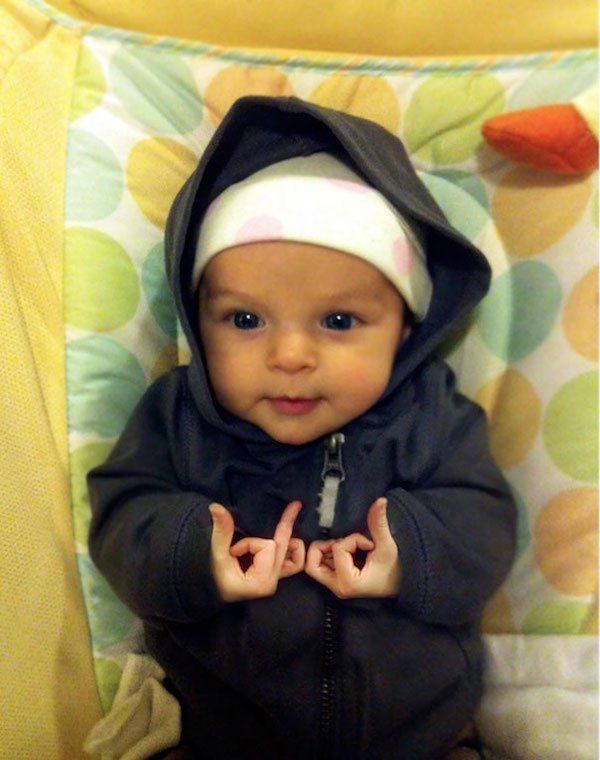 These are some bad ass babies – 25 Funny Pictures