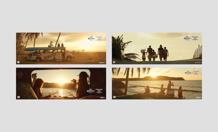 Advertising — Corona Extra Australia & New Zealand ATL Campaign, with MC Creative