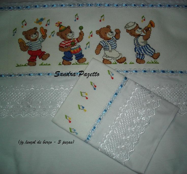 vendo tbem as peças prontas para bordar- sandrapazetto@hotmail.com