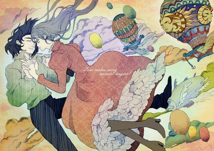 Holw's moving castle ♡