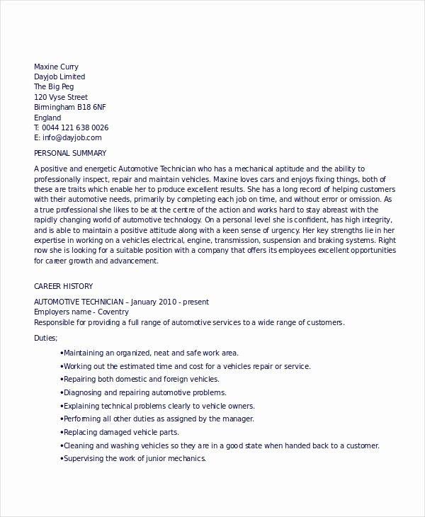 Beautiful Technician Resume Template 8 Free Word Pdf Documents Automotive Technician Expository Essay Technician