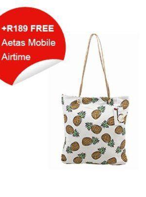 BlackCherry Pine Apple Bag