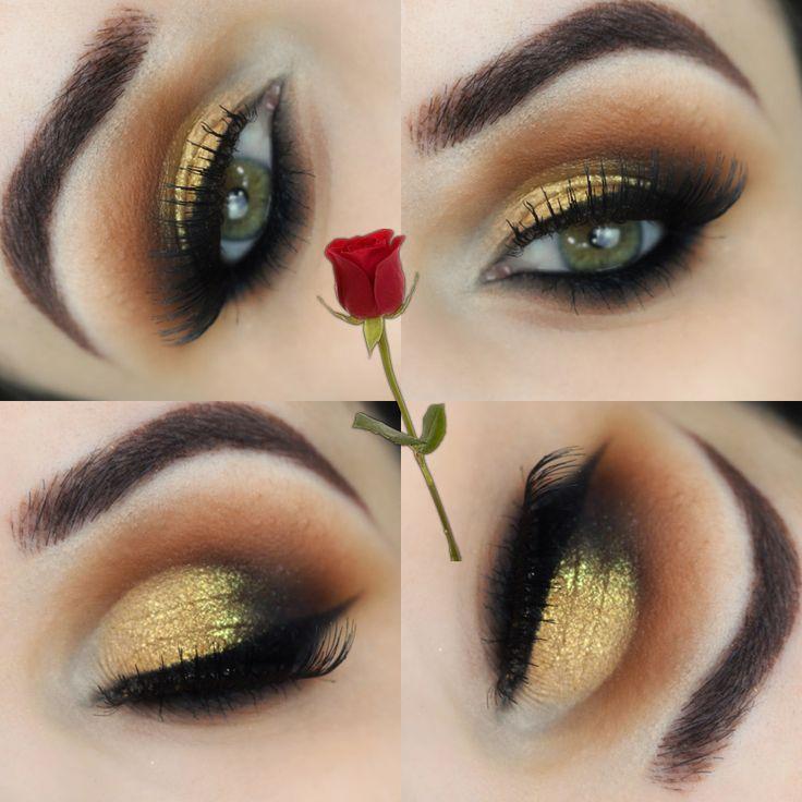 Tutorial – maquiagem inspirada na PRINCESA BELA