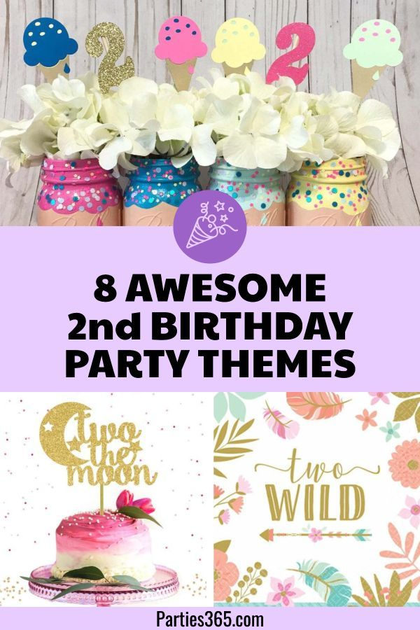 8 Awesome 2nd Birthday Party Themes And Ideas Parties365 Girl 2nd Birthday 2nd Birthday Party Themes Birthday Party Themes