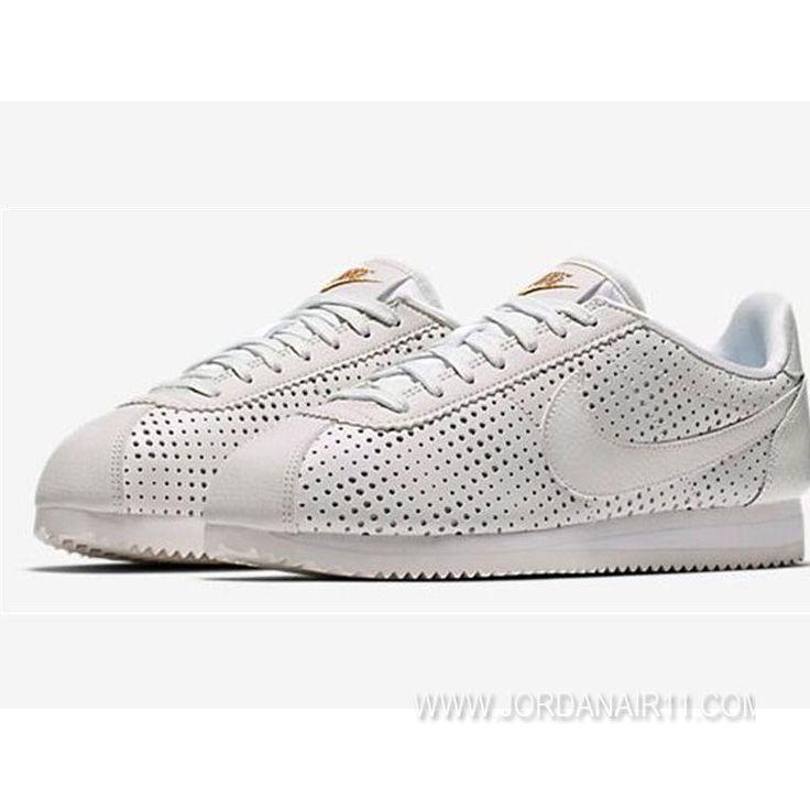 大特価! ナイキ コルテッツ クラシック プレミアムQS Nike WMNS Cortez Classic Premium QS AA1436-100 WHITE WMNS ホワイト/ホワイト レディース/ウィメンズ ランニングシューズ