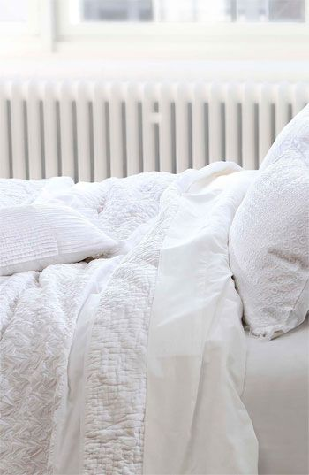 All white bedroom | The Lifestyle Edit