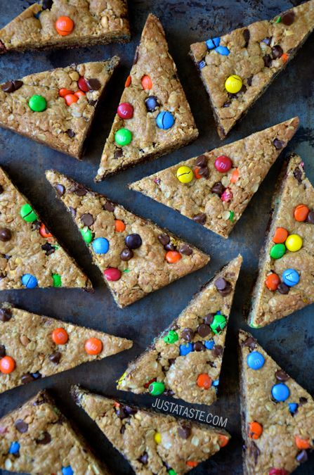 Monster Cookie Bars #recipe