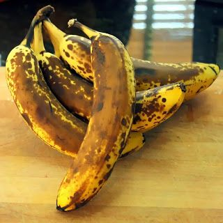 Inspired By eRecipeCards: Rotten Looking Bananas - How to Freeze Them for Later - Small Batch Canning