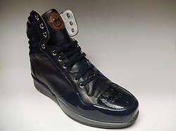 Mauri Crocodile & Patent Leather Sneakers