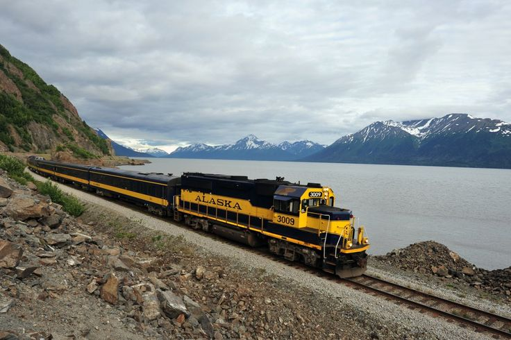 Luxurious Train Trips: The Alaska Railroad is a major tourist attraction during the summer when the Denali Star takes passengers from Anchorage to Fairbanks, with stops in Denali National Park. The entire trip takes 12 hours. The train is known for its glass-domed rail cars, which are excellent for viewing the stunning mountains and landscapes that the train passes. Photo by Steve Wall/Flickr.