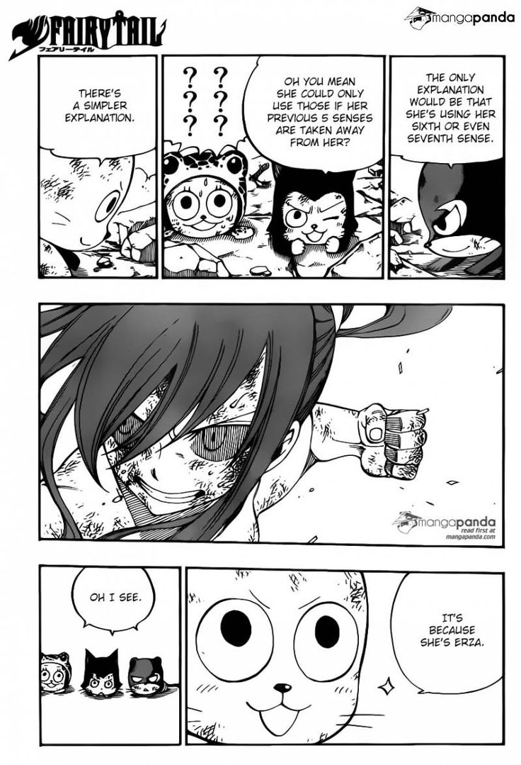 Fairy Tail 404 - Page 5 - Happy has a good point. And lol at Frosch. xD
