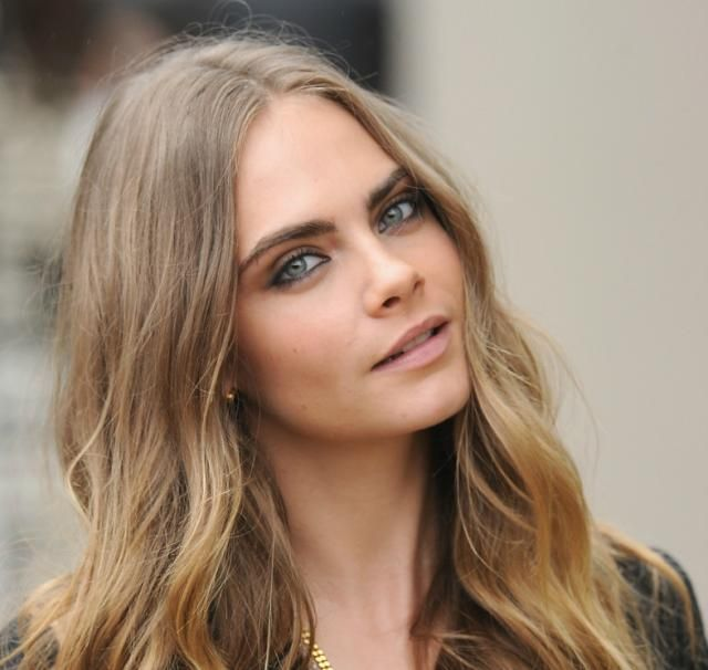 The 5 Best Makeup Colors for Blue Eyes | Cara delevingne hair. Cara delevingne. Cara delevigne