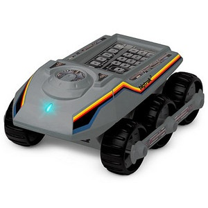 Bigtrak Jr via Think Geek.Totally wanted this when I was a kid.