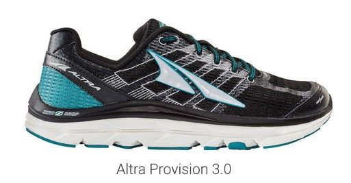 The redesigned Altra Provision 3.0 Shoe is a zero drop performance stability running shoe that provides lightweight support and comfort at 10.3oz.