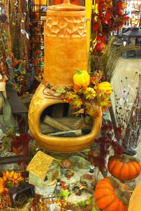 WanneGetCozy? Check out our Chiminea sale to complete your outdoor patio space for fall. 20% off regular prices thru Sept 30th! Multiple designs in stock. wannemakers.com