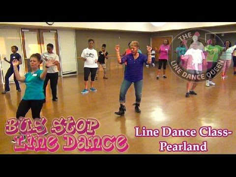 Bus Stop Line Dance (DJ Jubilee)-w/The Line Dance Queen's Class - YouTube