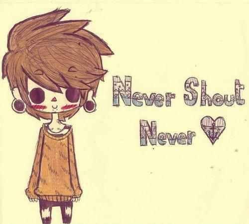 Never Shout Never. : Bands
