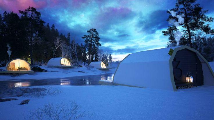 Luxury Tent warms by kamin below or fuel-driven heater.  Luksusteltta lämpenee kaminalla tai  polttoainekäyttöisellä lämmittimellä.