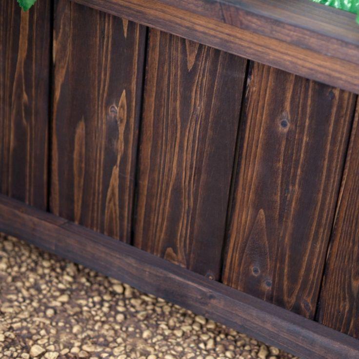 Rectangular Cedar Wood Aster Patio Planter