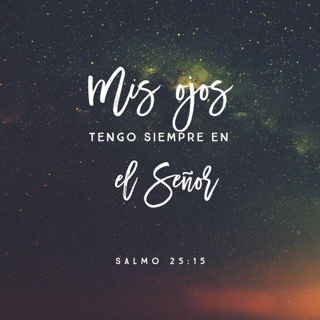 Mis ojos tengo siempre en el Señor, él libera mis pies de la trampa.....SALMOS 25:15 BHTI🙏💞🌷