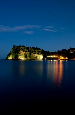 Taken from Teignmouth of Shaldon and Ness Cove.