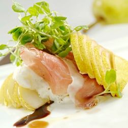Bartlett Pear and Prosciutto Salad Recipe | Wolfgang Puck