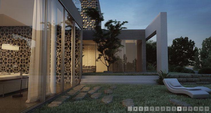 3d Rendered House Decor