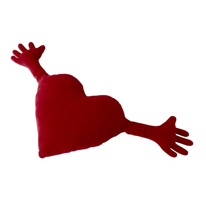 Το μαξιλάρι-καρδούλα είναι ίσως το πιο δημοφιλές μας αντικείμενο παγκοσμίως!