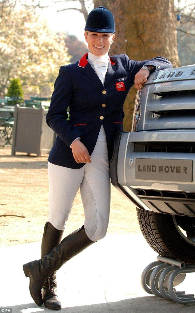 Hanging up her riding boots? Zara won a silver at the Olympic Games in London in 2012 but didn't compete at the Rio games in 2016