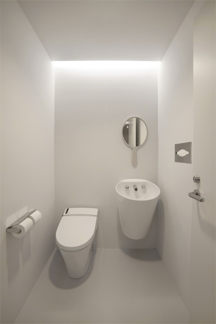 142 best * Inspiratie toilet images on Pinterest | Bathroom ideas ...