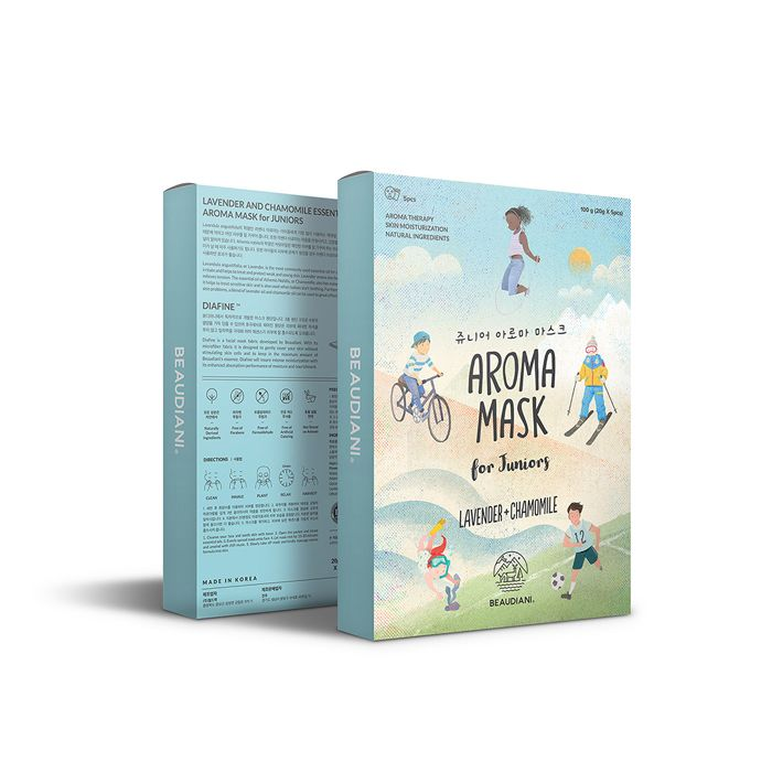 Junior Aroma mask pack #aroma #Lavender #cosmetic #beauty #gd #beaudiani #desing #child