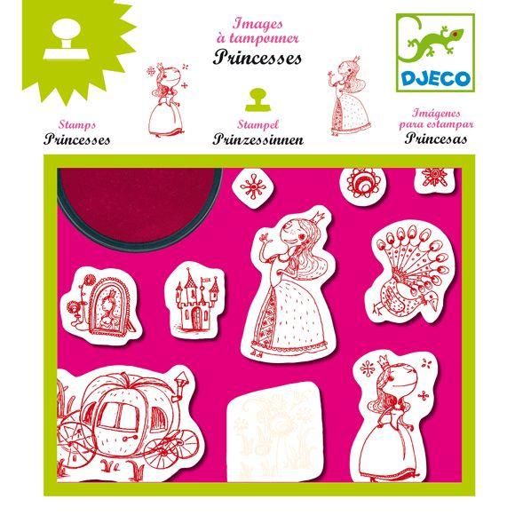 'Hercegnők nyomda-Princesses Djeco | Pandatanoda.hu Játék webáruház