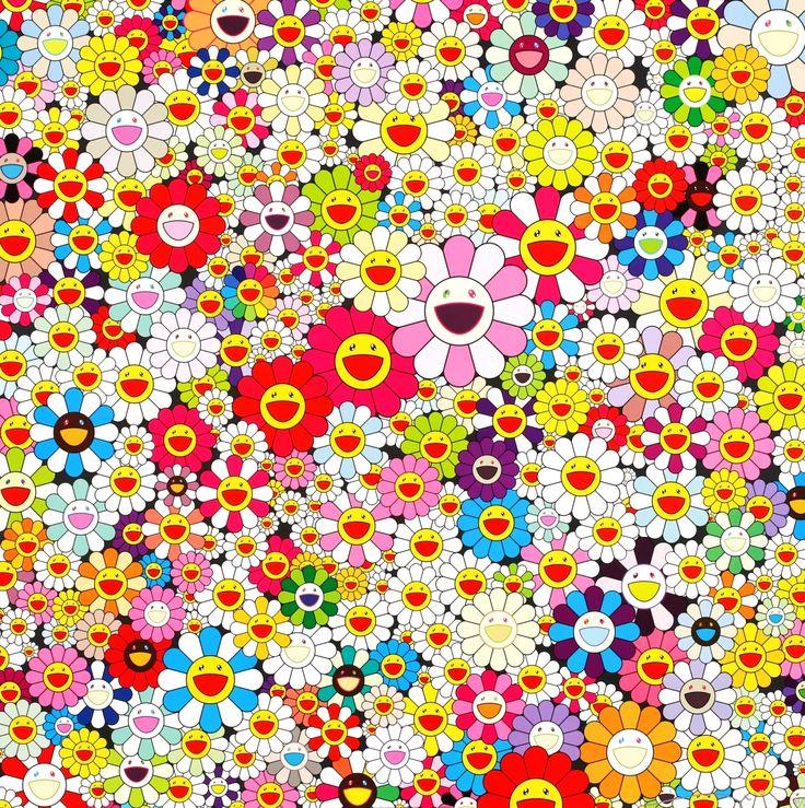 Takashi Murakami: Flowers in Heaven. #ValentinesDay