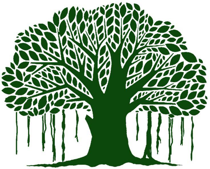 Banyan tree clipart