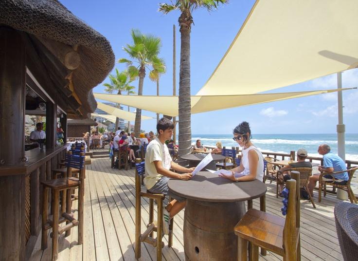 Beach clubs  www.shadesailmarbella.com