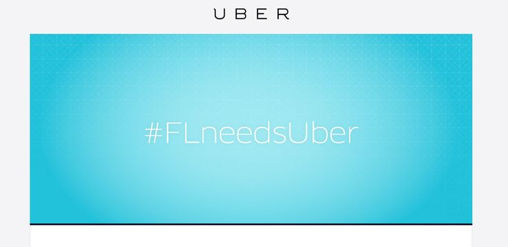 Email Marketing - #FloridaNeedsUber  Senator Negron is a small town senator of Florida's District 32, a town in which Uber may not be too popular. Regardless, Negron is now at the center of an email marketing campaign via Uber to all Florida residents. This is all due to one of the bills that ruin great things for people, and... - http://codeanddev.com/email-marketing-floridaneedsuber/   Follow @CodeandDev - #FloridaNeedsUber, #SB1298, #SenatorNegron #EmailMarketing