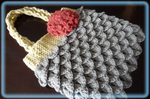 600-purse Crocodile Stitch Pinterest Crochet purses ...