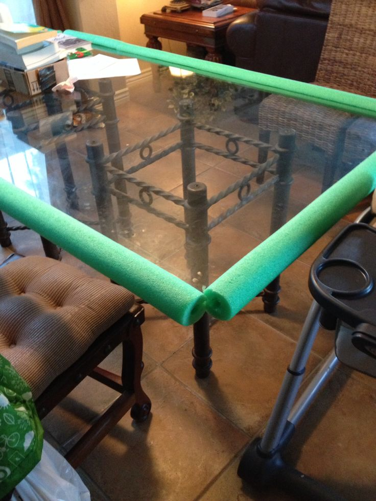Easy Cheap Baby Proof Glass Table Baby Stuff