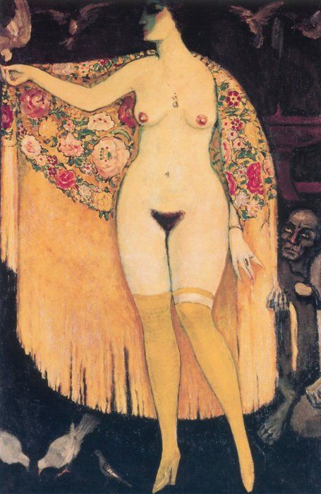 The Spanish Shawl by Kees van Dongen