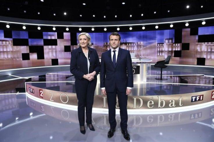 Debat Final Pilpres Prancis, Macron Ungguli Le Pen