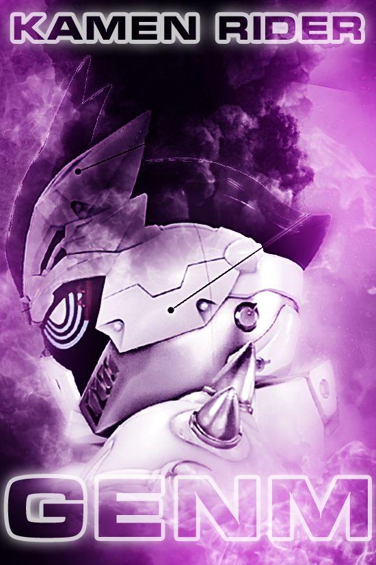 Kamen Rider Genm Smartphonne wallpaper by phonenumber123