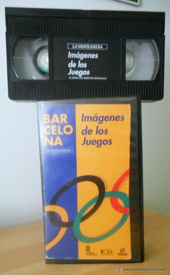 VIDEO VHS OLIMPIADAS BARCELONA 92