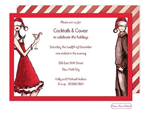 133 best images about Christmas cocktail party invitations – Christmas Engagement Party Invitations