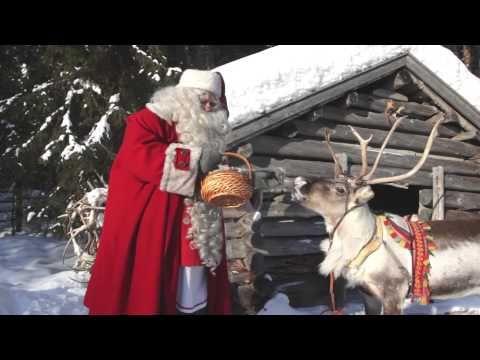 Rovaniemi, ciudad de Papá Noel Santa Claus en Laponia