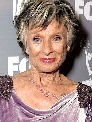 Cloris Leachman - just celebrated her 86th birthday
