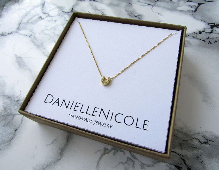 This Horseshoe Necklace is the perfect accessory for any outfit! Wear alone or layer with others for a boho chic look!