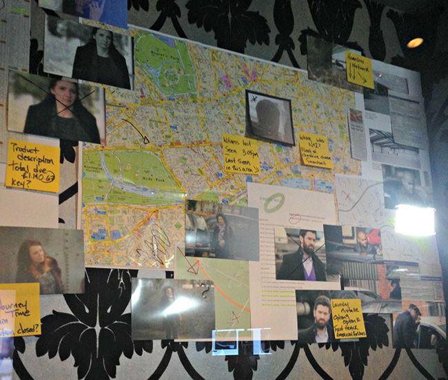 Detective Show Crazy Walls